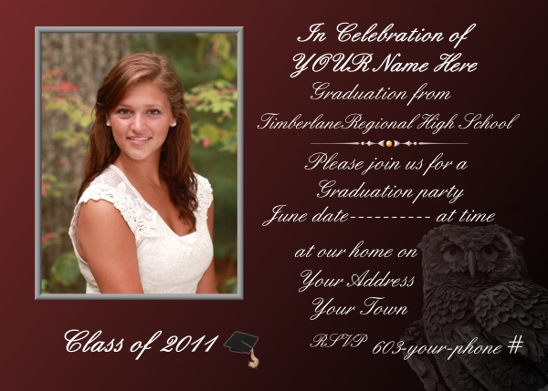 Senior Invitations